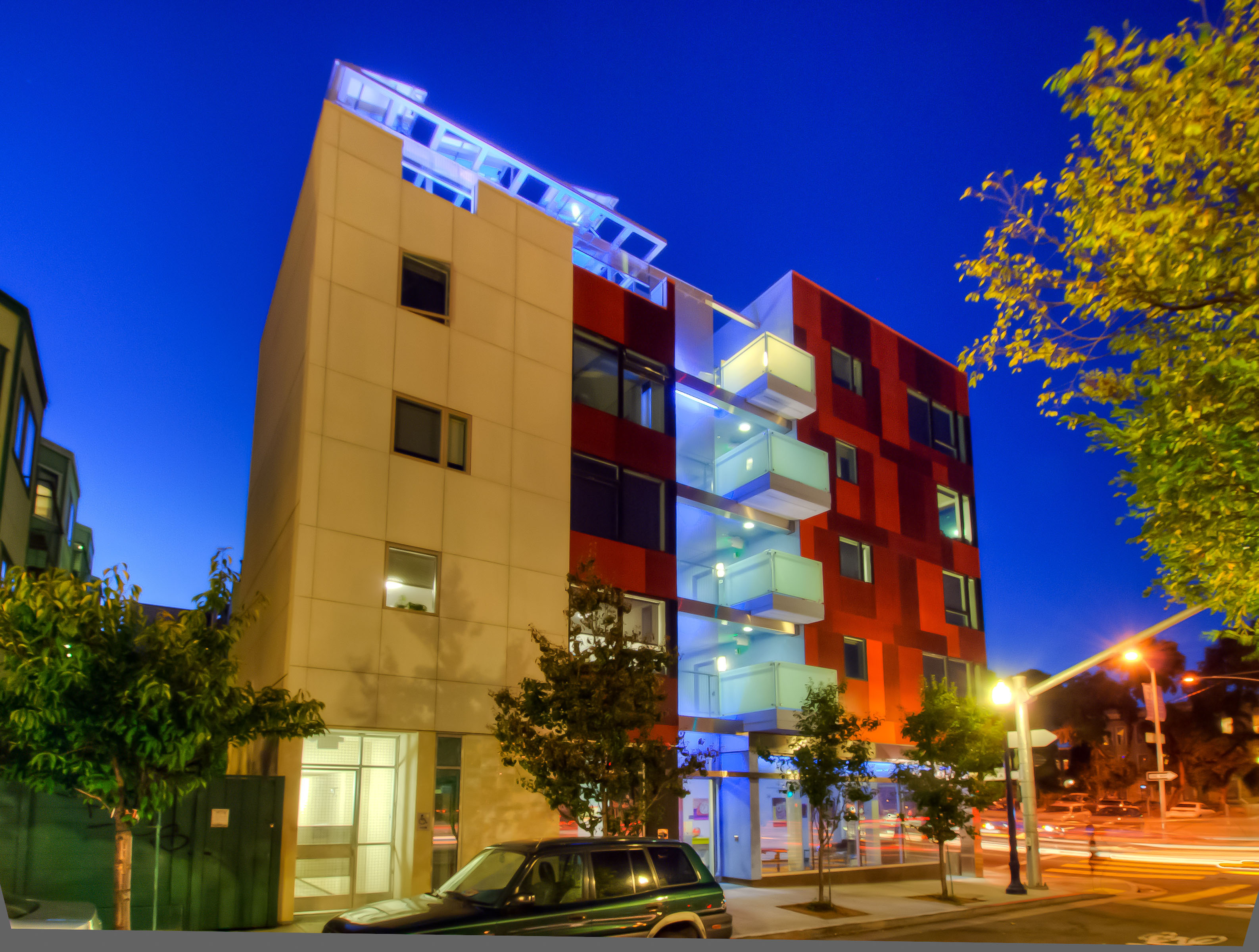 John King Reviews Octavia Court Apartments For The San Francisco Chronicle